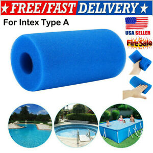 US-Washable-Reusable-Swimming-Pool-Filter-Foam-Cartridge-Sponge-for-Intex-Type-A