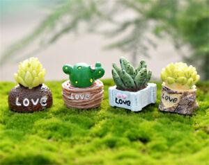 1-12-Mini-Green-Plant-In-Pot-For-Dollhouse-Furniture-Decoration-Home-Decor-HT