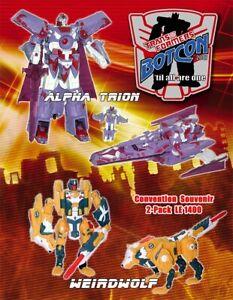 Transformers Botcon 2007 Sealed Vector Sigma