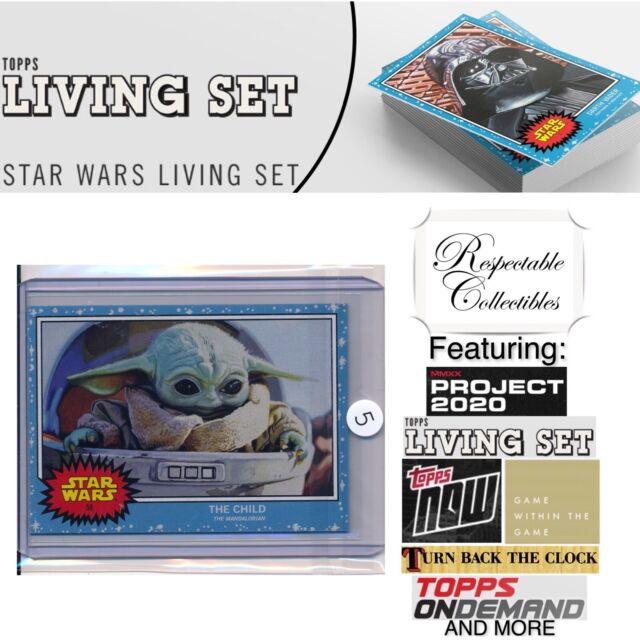 Topps Star Wars Living Set Card #58 The Child/Baby Yoda/Grogu The Mandalorian