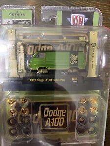 M2 Machines 1967 Dodge A100 Panel Van Auto Lifts Model Kit Release 30
