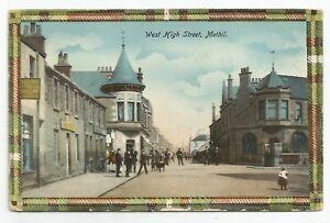 POSTCARDS-SCOTLAND-METHIL-PTD-West-High-Street