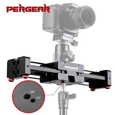 Camera V2 Rail Track Stabilizer Dolly Slider Video Camcorder Stabilization +bag