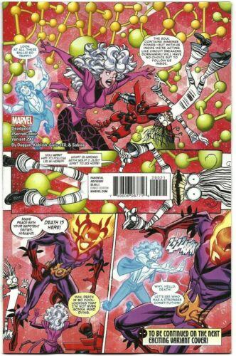 Despicable Deadpool #290 Secret Comic Variant Marvel Comics