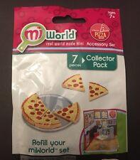 MiWorld Italia Pizza Shop Accessory Set 7pc Collector Pack NEW