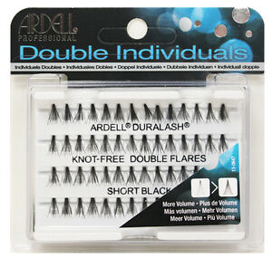 ddf393f51b0 Image is loading ARDELL-Duralash-DOUBLE-Flare-Knot-Free-Individual-Lashes-