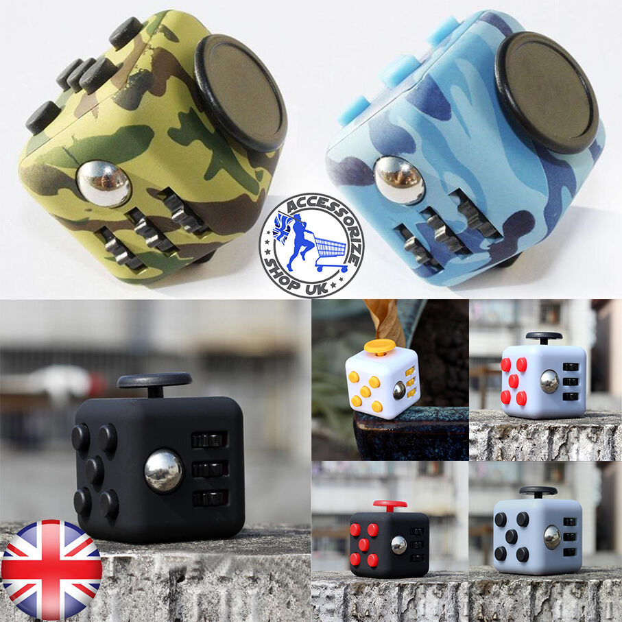 Toys For Anxiety : Anti anxiety fidget cube funny toys stress relief toy