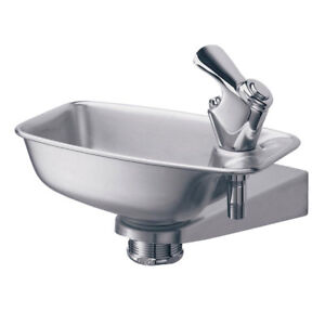Elkay-Bracket-Stainless-Steel-Indoor-Outdoor-Wall-Mount-Water-Drinking-Fountain