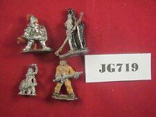 OOP Warhammer 4 Pre-Slotta Miniatures 1983-89 Metal Ref JG719