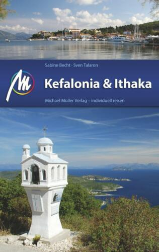 1 von 1 - Kefalonia & Ithaka von Sabine Becht und Sven Talaron (2016, Taschenbuch)