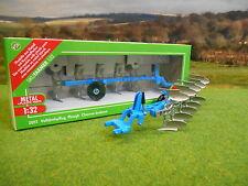 SIKU FARM LEMKEN 5 FURROW EUROPAL 7X REVERSIBLE PLOUGH 2051 1/32  *BOXED & NEW*