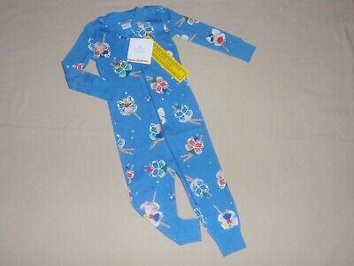 NWT Girls Fairies Hanna Andersson Sleeper Pajamas 75 80 85 90 12m 18m 2t 3t NEW