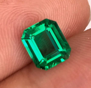 8x10mm-Natural-Mined-Green-Emerald-Gems-Emerald-Cut-VVS-AAA-Loose-Gemstone