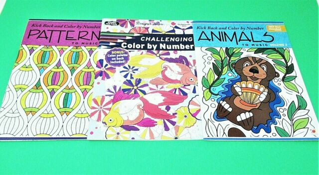 Pixel Art Color By Number Coloring Books For Sale Online EBay