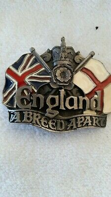 BRITISH Flag England UK Belt Buckle United Kingdom
