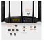 miniature 4 - TENDA AC23 ROUTER AC1200 WIRELESS DUAL-BAND 1PT WAN + 3PT LAN + 7 ANTENNE 6DBI