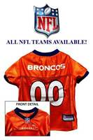 Nfl Dog Jersey All Teams Available Football Team Pet Puppy Sports Fan Shirt