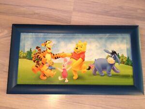 Cadre de décoration en bois Disney Winnie