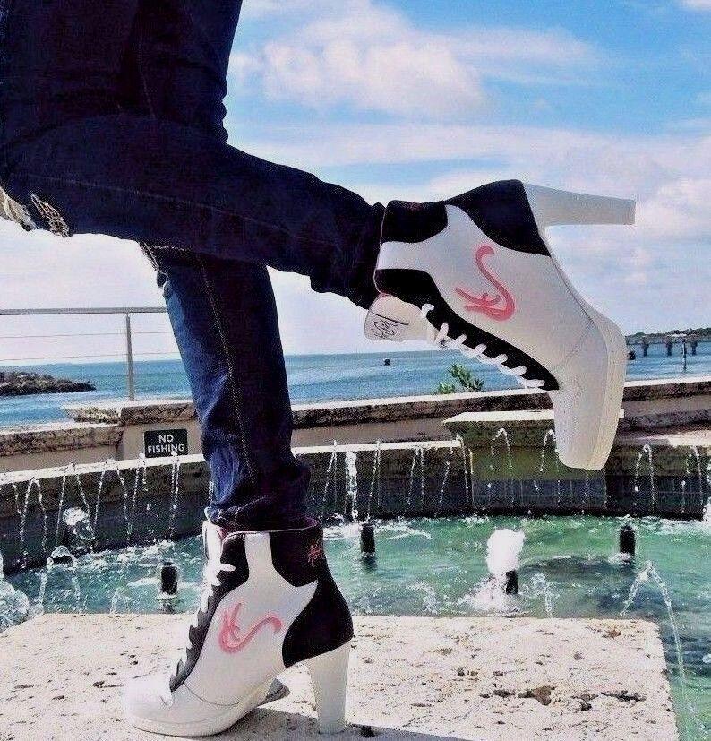 in vendita online HC High Heel scarpe da ginnastica, rosa logo. Beautiful quality quality quality Awesome Comfort, CA-004  più economico