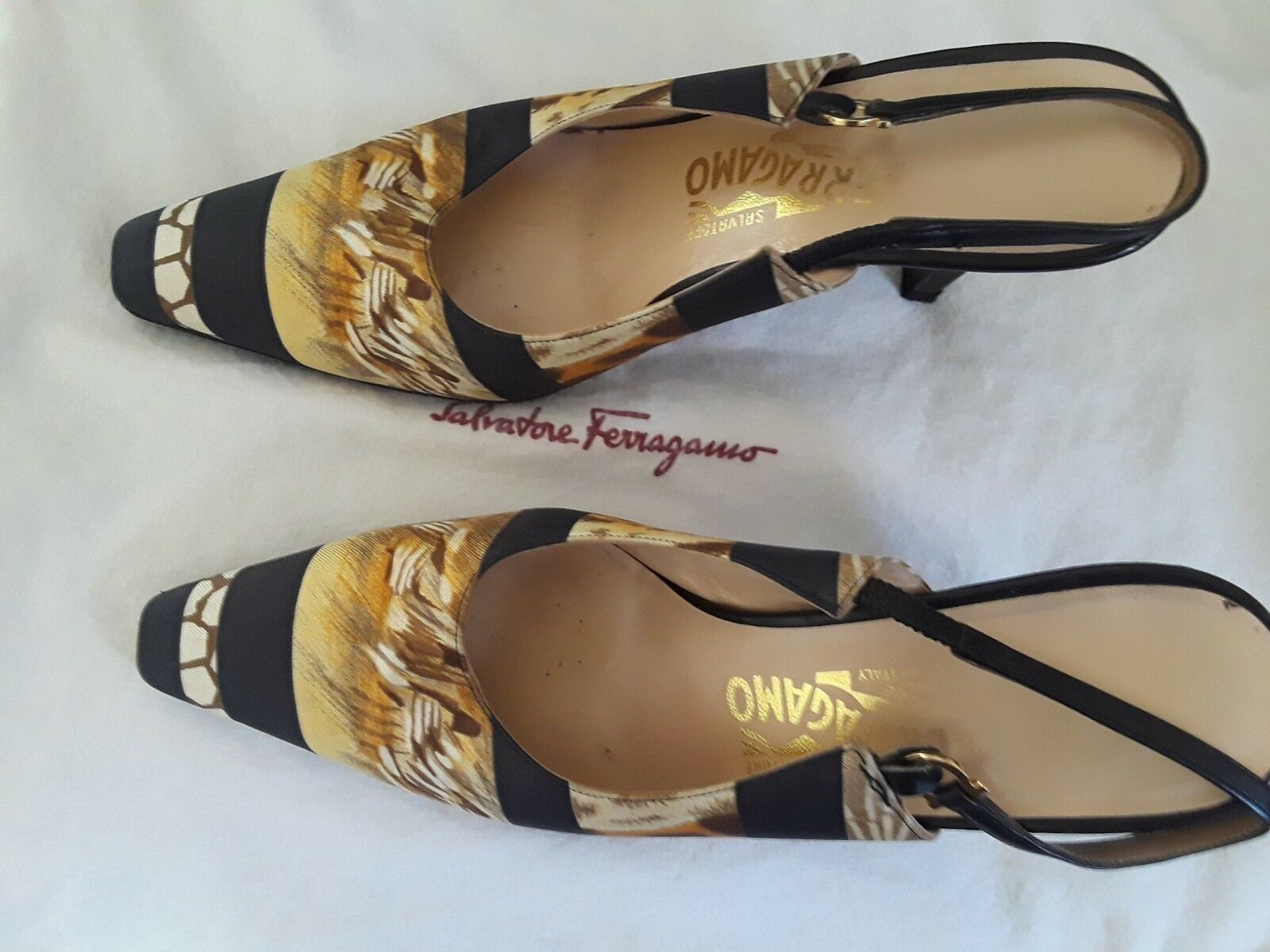 Salvatore Ferragamo animal Zapatos print Zapatos animal 368b52