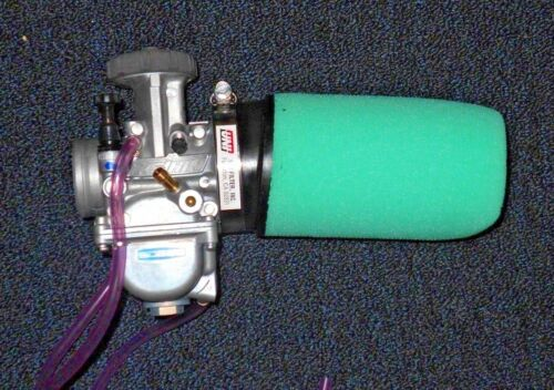 ATC250R,TRI-Z250,TECATE KXT250,TRX250R OVERSIZE CARBURETOR CLAMP ON AIR FILTER