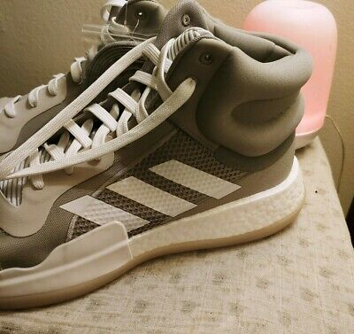 Details about adidas ADIPRENE + WHITE HI TOP SHOES MEN'S SIZE 15