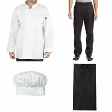 Chef Code Culinary Student Bundle Pack Includes Chef Coat Pants Hat Amp Apron