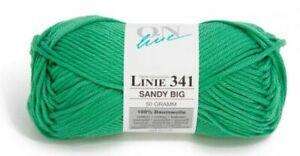 4,37€//100g ONline 10 Knäuel = 500g Linie 341 Sandy Big Baumwolle  alle Farben
