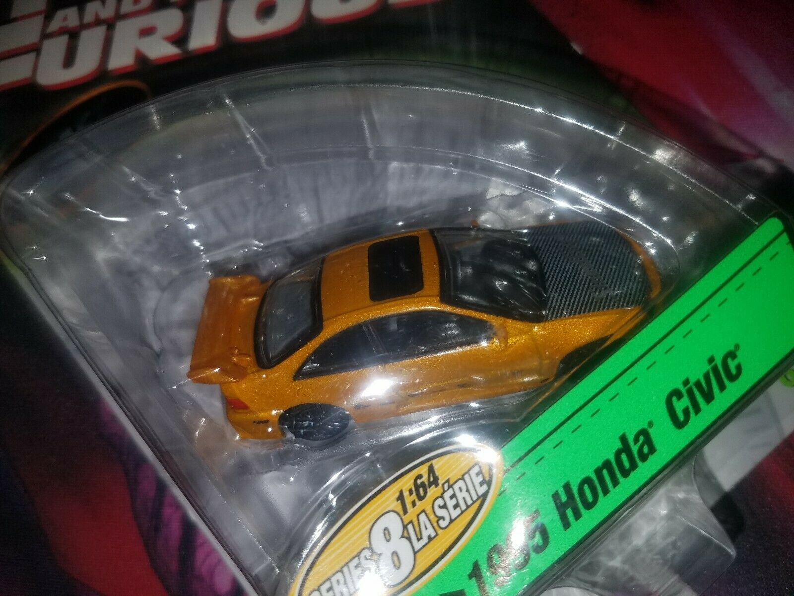 The Fast and The Furious 1995 Honda Honda Honda Civic 696769