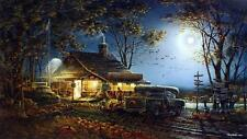 Terry Redlin Autumn traditions  Pumpkin Farm Elite Print with Certificate