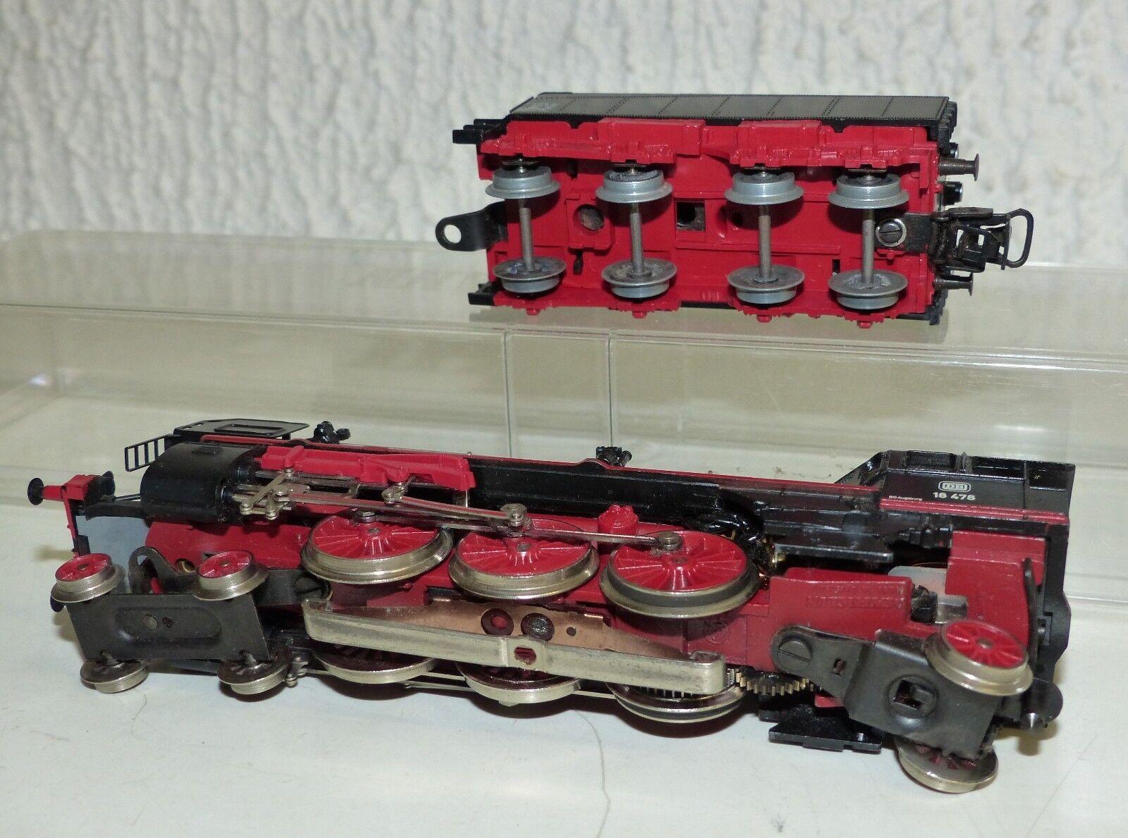 Märklin Märklin Märklin 3093 Dampflok BR 18 478 ca. 1977-87 Guss H0  | Wunderbar  2bf6ba