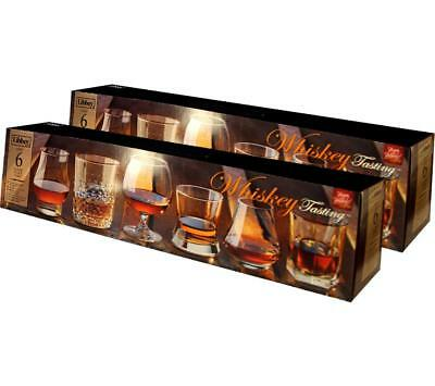 12 Count Libbey Glasses Whiskey Tasting