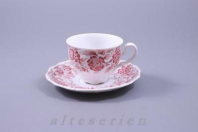 Kaffeetasse 2tlg mit Untertasse Theresia Heimatland Seltmann Weiden