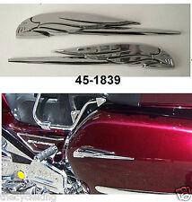 CHROME EAGLE EMBLEMS (pair) - Honda Goldwing GL 1100 1200 1500 1800