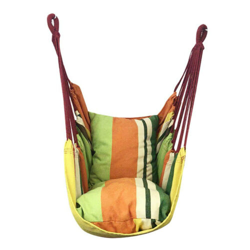 Chair Hanging Rope Swing Hammock Outdoor Porch Patio Yard Seat Mul Colors USA