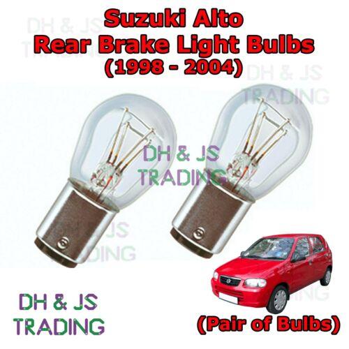 Suzuki Alto Rear Brake Light Bulbs Pair of Stop Tail Light Bulb 98-04