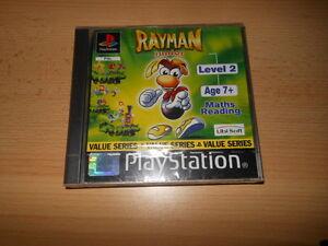 PS1-RAYMAN-JUNIOR-LEVEL-2-NEW-SEALED-pal-version