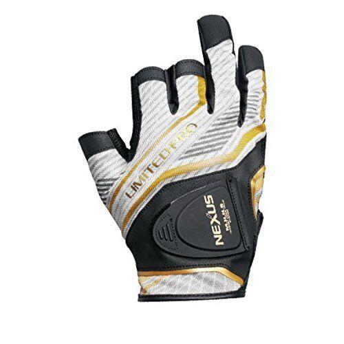 SHIMANO GL-141Q Fishing Glove NEXUS LEZANOVA Limited Pro Weiß L Japan