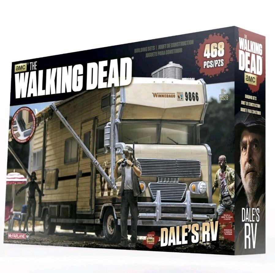 McFarlane AMC The Walking Dead Building Sets Dale's RV Construction Set
