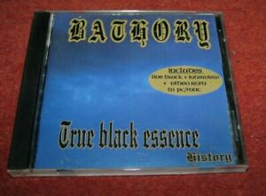 "BATHORY ""True Black Essence"" CD (venom, darkthrone, mutiilation)"