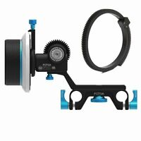 FOTGA DP500 III 3 DSLR Follow Focus For 15mm Rod All DSLR cameras 5DIII A7 A7R