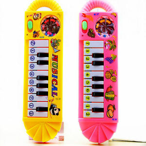 Baby Toddler Kids Musical Piano Developmental Toy Early Educational Game ~