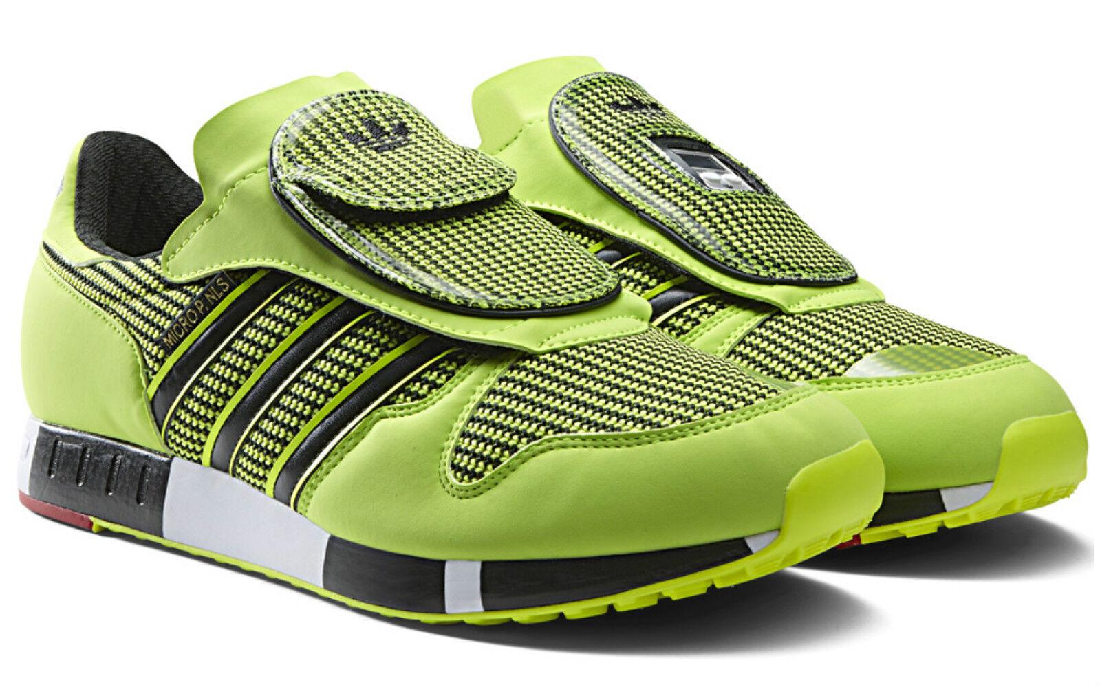 Adidas Originales MICROPACER og Zapatos  para hombre Talla EE. 12.5 UU. 13 Reino Unido 12.5 EE. solar amarillo S77305 901ffb