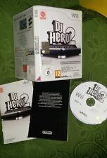 NINTENDO WII DJ HERO 2 - Usato Garantito - COMPLETO