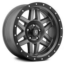 1- 17 Inch Wheels Rims Grey Jeep Wrangler JK XD Series XD128 Machete 5x5 SINGLE