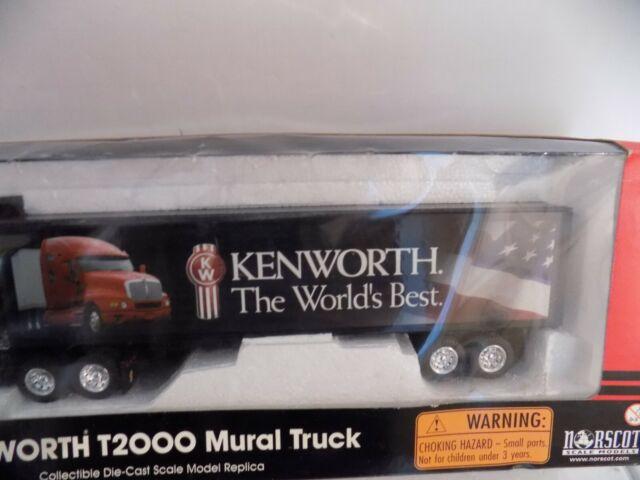 Stihl Mural de escala 1:50 Caminhão Kenworth T2000