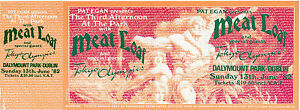 MEAT-LOAF-CONCERT-TICKET-1982-ORIGINAL-MINT-DUBLIN-WITH-TOKYO-OLYMPICS-VALUABLE