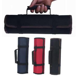 Chef-Knife-Bag-Roll-Bag-Carry-Case-Bag-Kitchen-Cooking-Portable-22-Pockets-New