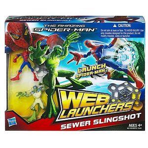 The Amazing Spider-Man Web Launchers Sewer Slingshot