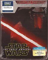 Star Wars: The Force Awakens on Blu-ray/DVD [SteelBook] 2015